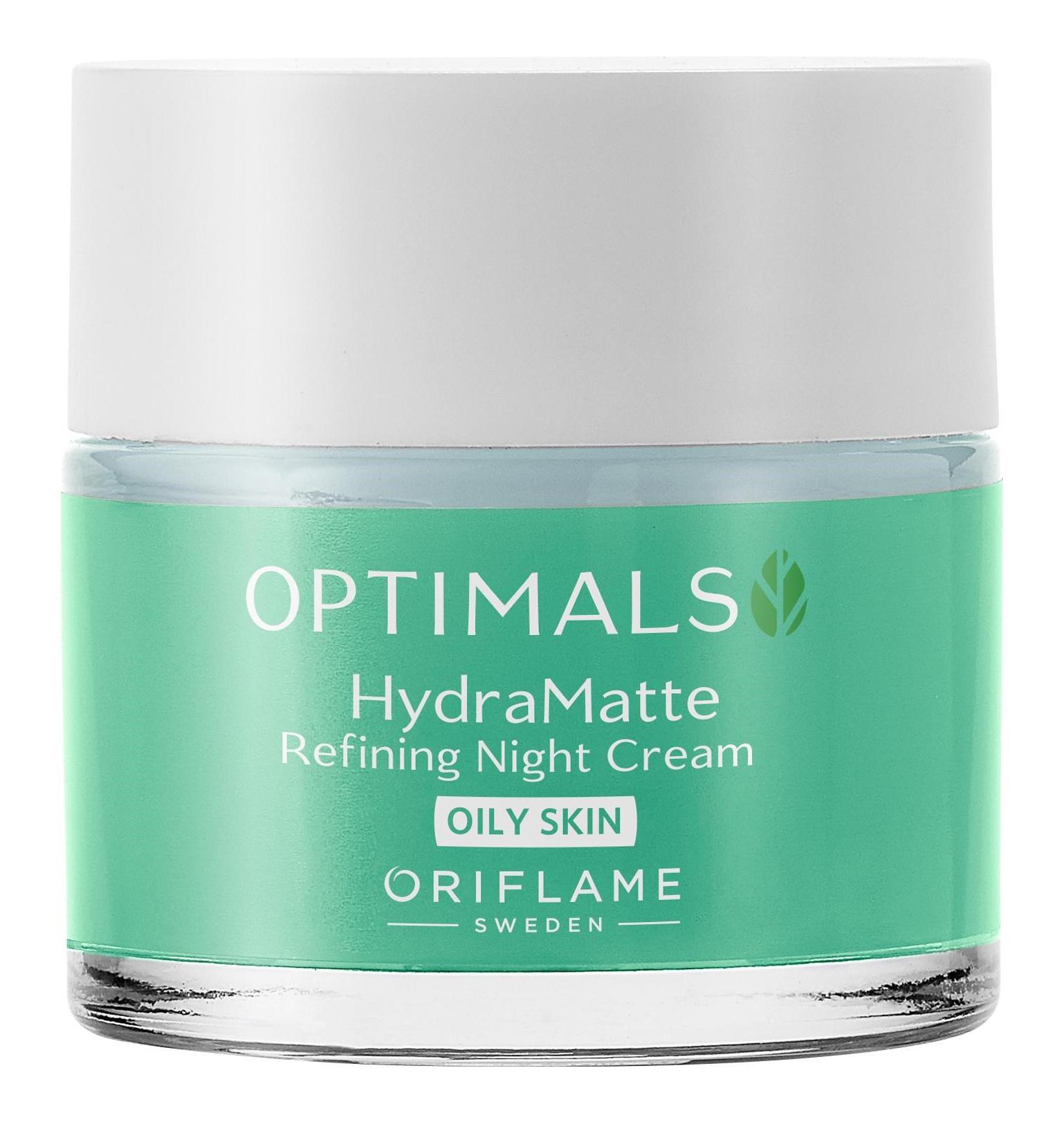 Oriflame Optimals HydraMatte Refining Night Cream