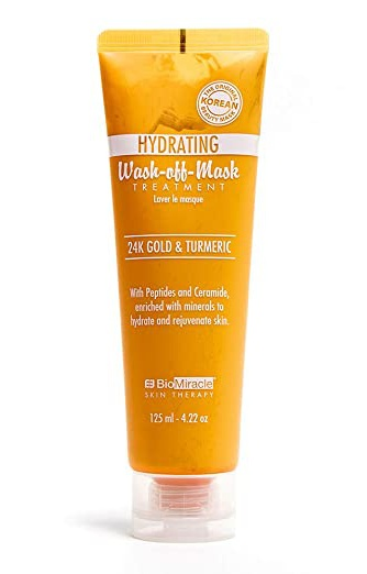 BioMiracle Skin Therapy Wash-off Mask 24K Gold & Turmeric