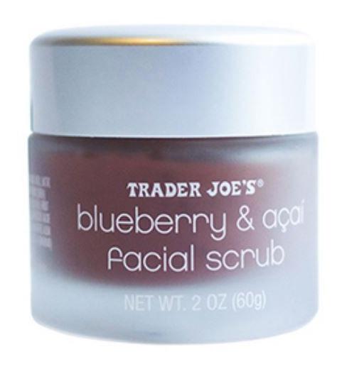 Trader Joe's Blueberry & Acai Facial Scrub