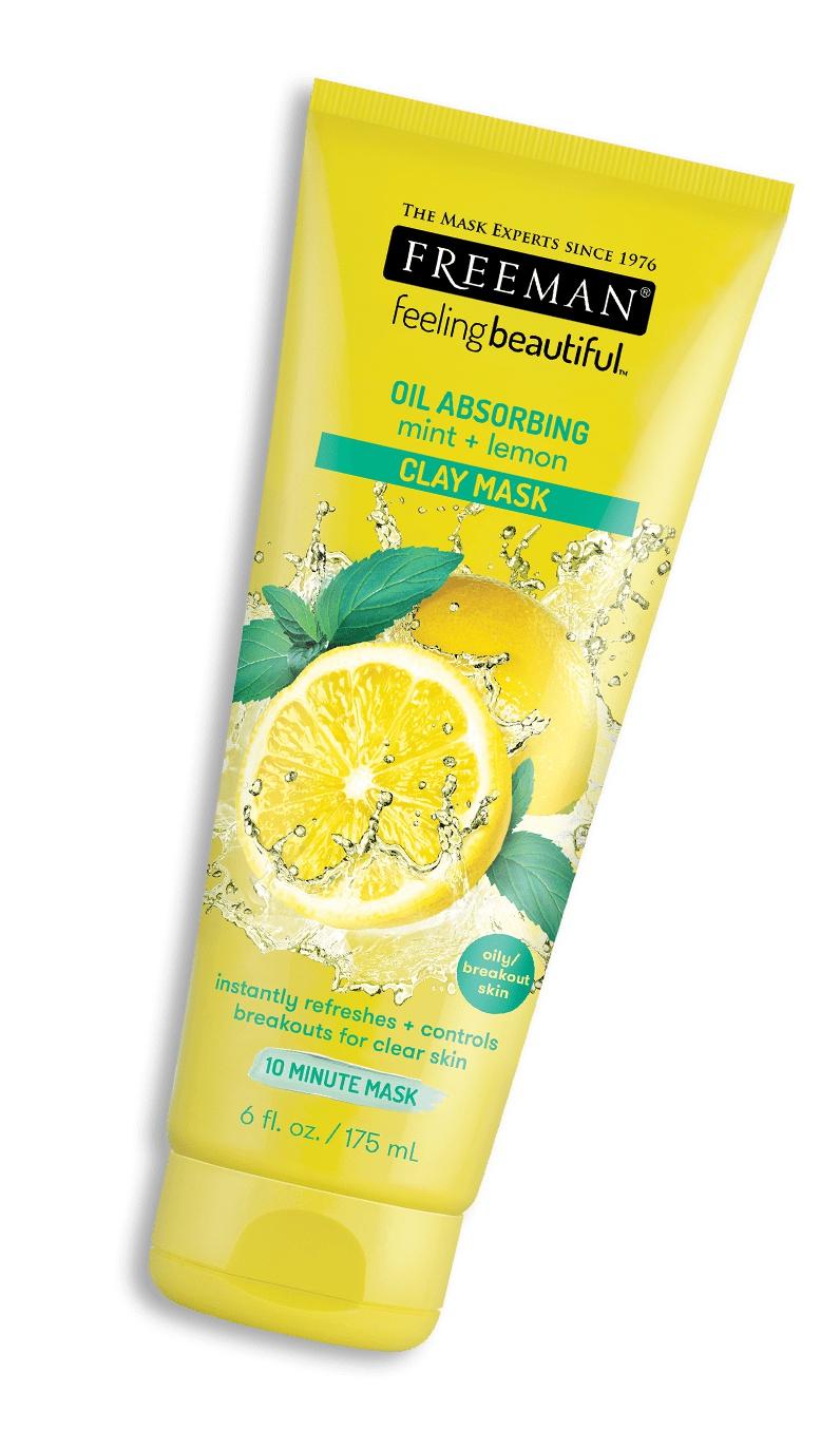 Freeman Lemon Mint Oil Absorbing Clay Mask