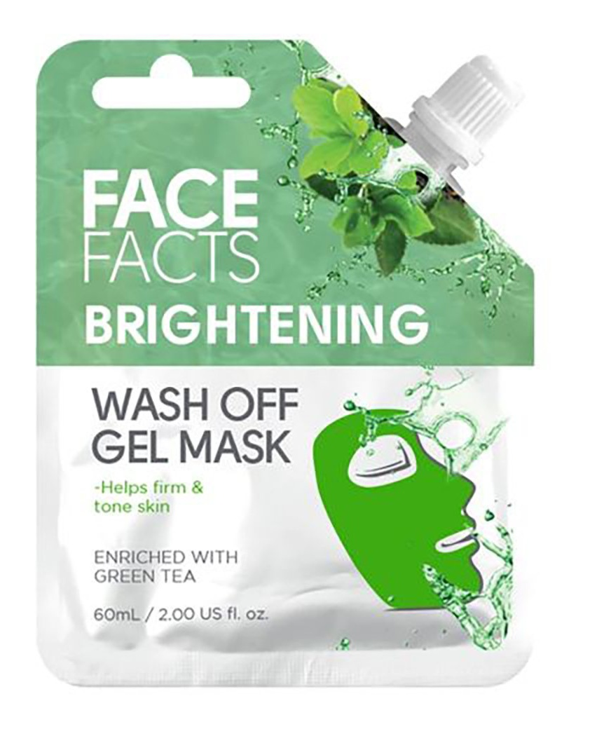 Face facts Brightening Wash Off Gell Mask