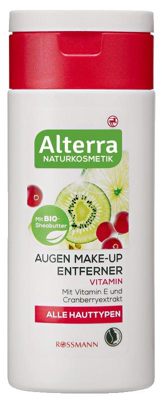 Alterra Augen Make-Up Entferner Vitamin