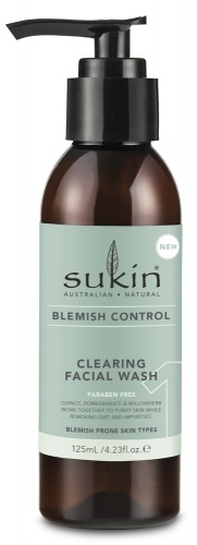 Sukin Clearing Cleanser Blemish Wash