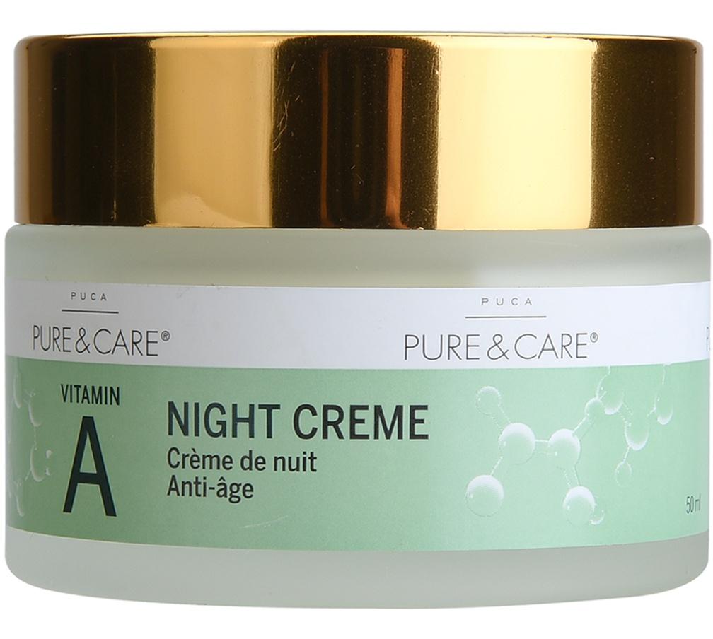 Puca Pure & Care Night Cream - Vitamin A