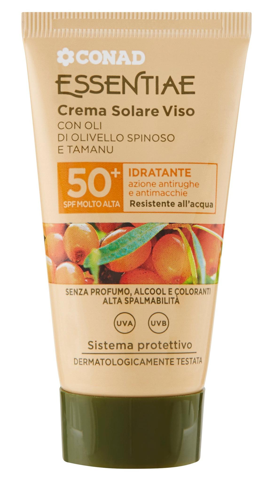 Conad Essentiae Crema Solare Viso 50+