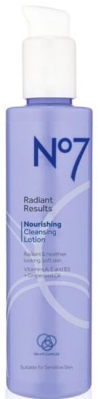 No7 Radiant Results Nourishing Cleansing Lotion