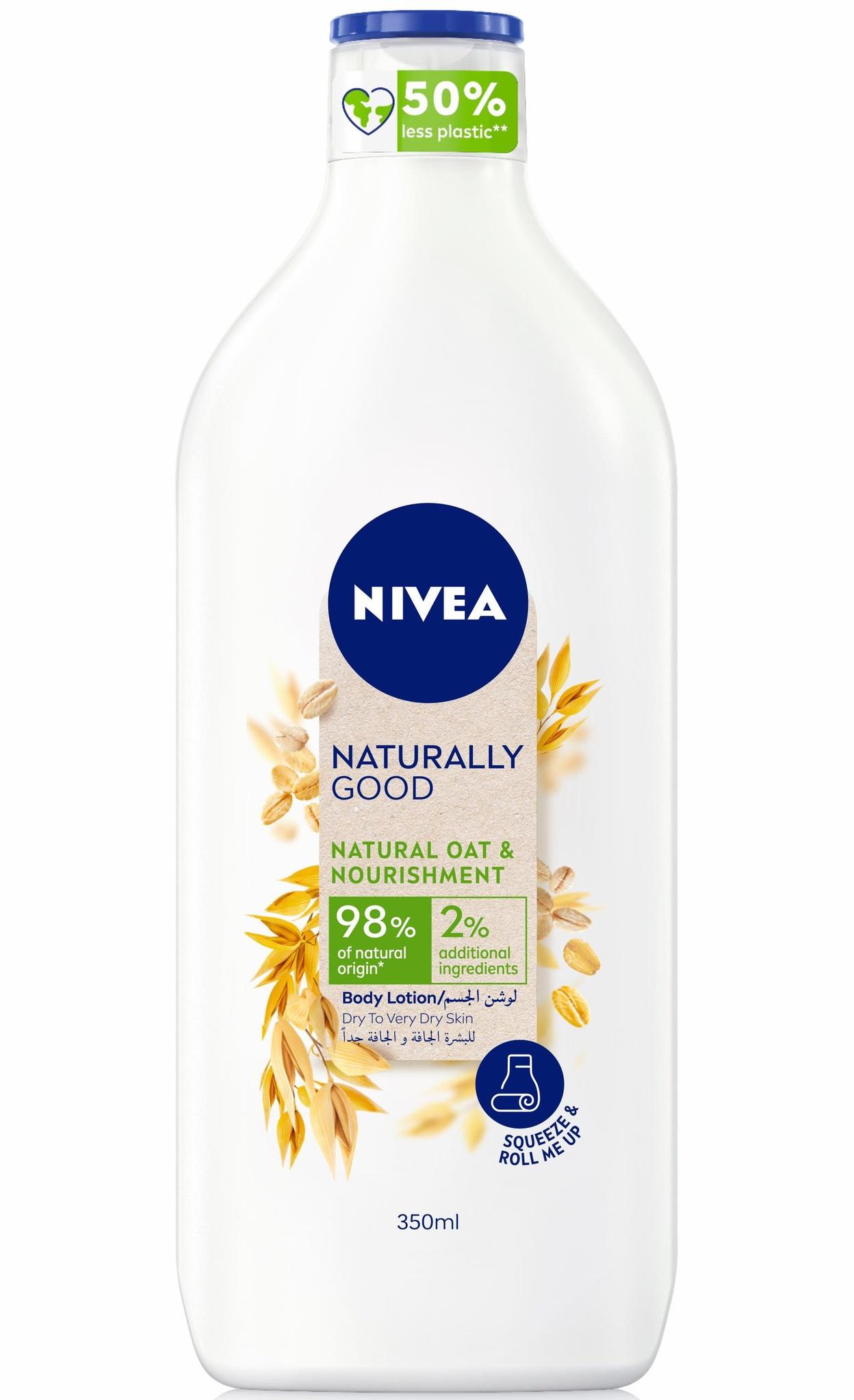 Nivea Naturally Good Natural Oats Body Lotion
