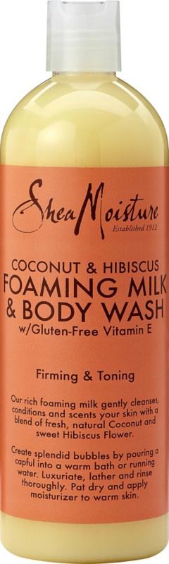 Shea Moisture Coconut & Hibiscus Foam Body Wash