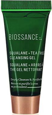 BIOSSANCE Squalane + Tea Tree Cleansing Gel
