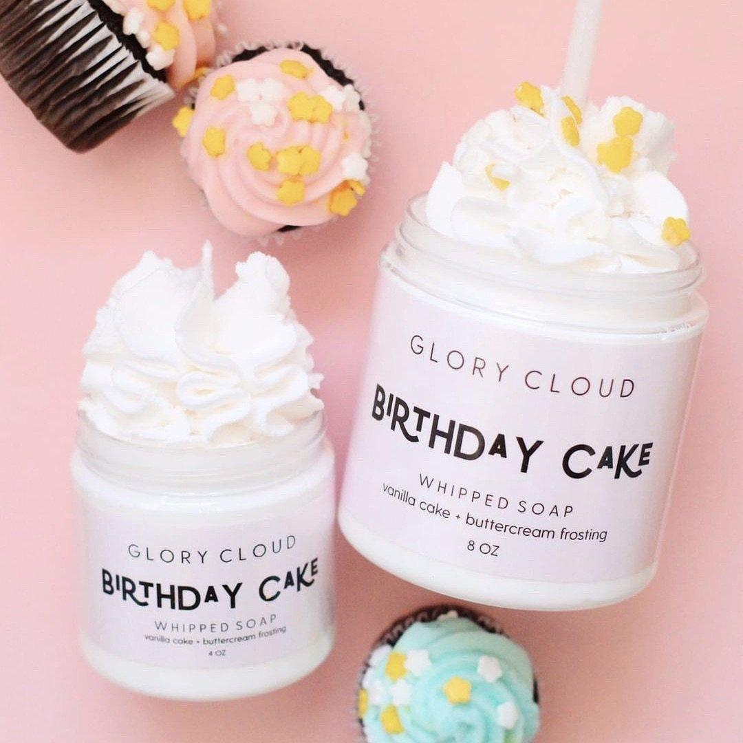 Glory Cloud Cloud Soap - Birthday Cake