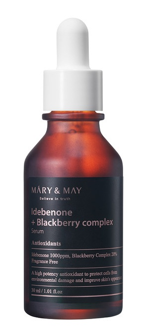 MARY & MAY Idebenone + Blackberry Complex Serum