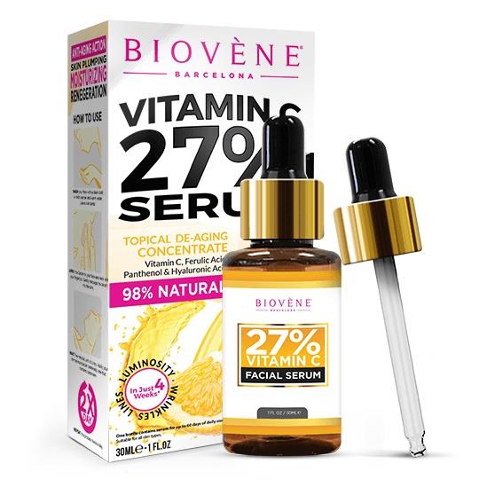 Biovene Age-Defying Vitamin C 27% Facial Serum