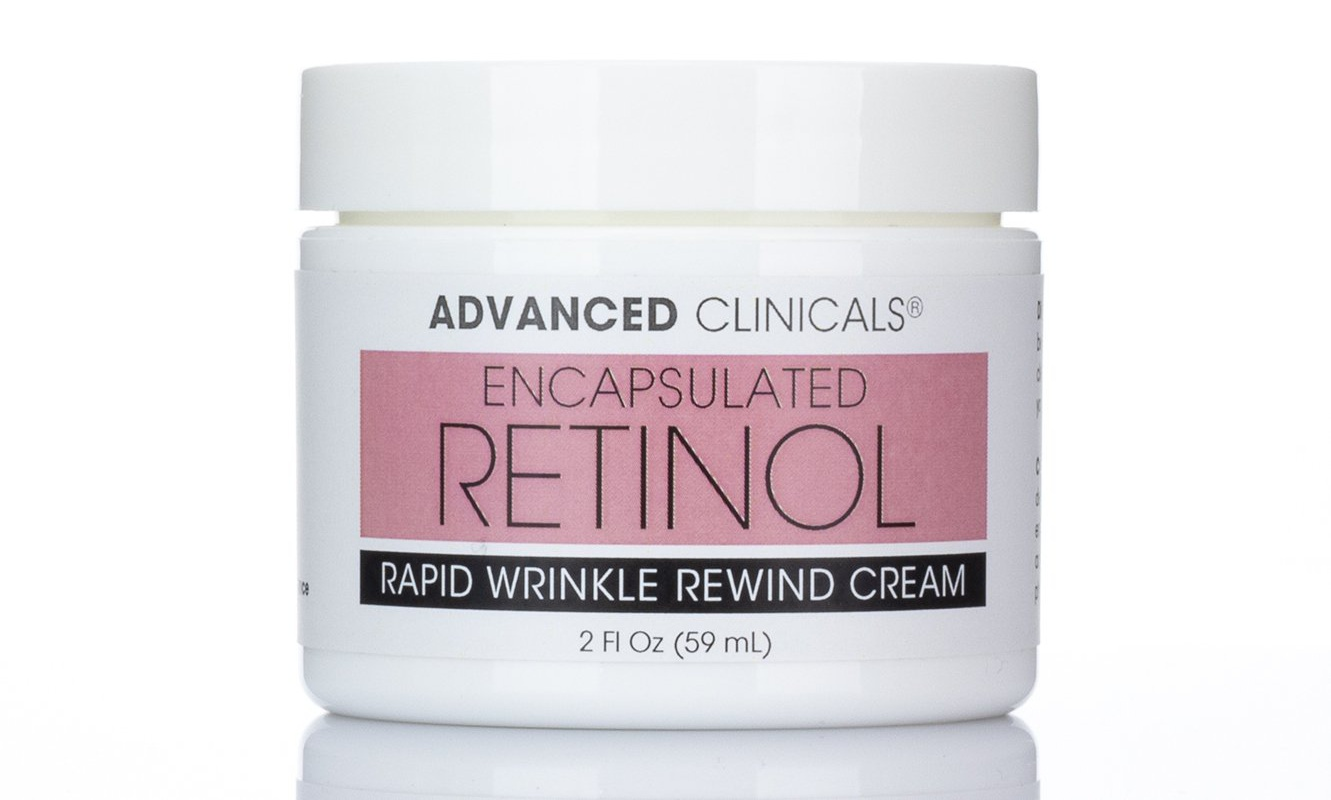 Advanced Clinicals Encapsulated Retinol Rapid Wrinkle Rewind Cream