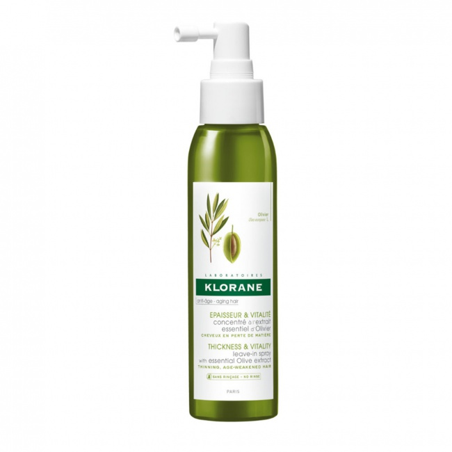 Klorane Thickness & Vitality Leave-In Spray With Essential Olive Extract