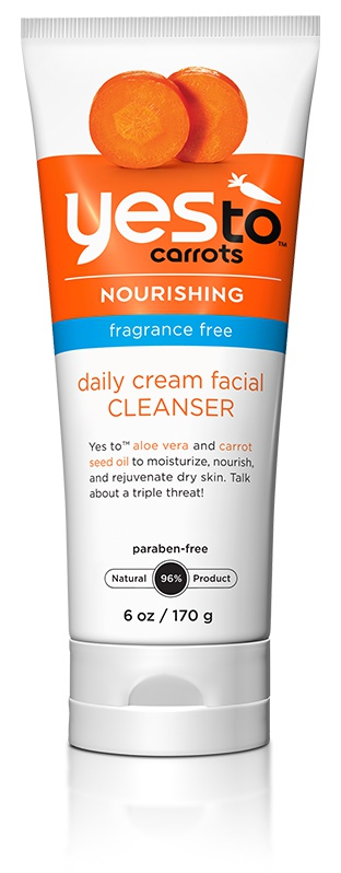 Yes to Carrots Fragrance-Free Daily Cream Facial Cleanser