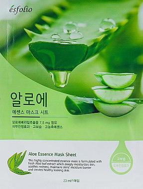 Esfolio Aloe Essence Sheet Mask