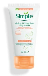 Simple Protect & Glow Clay Mask