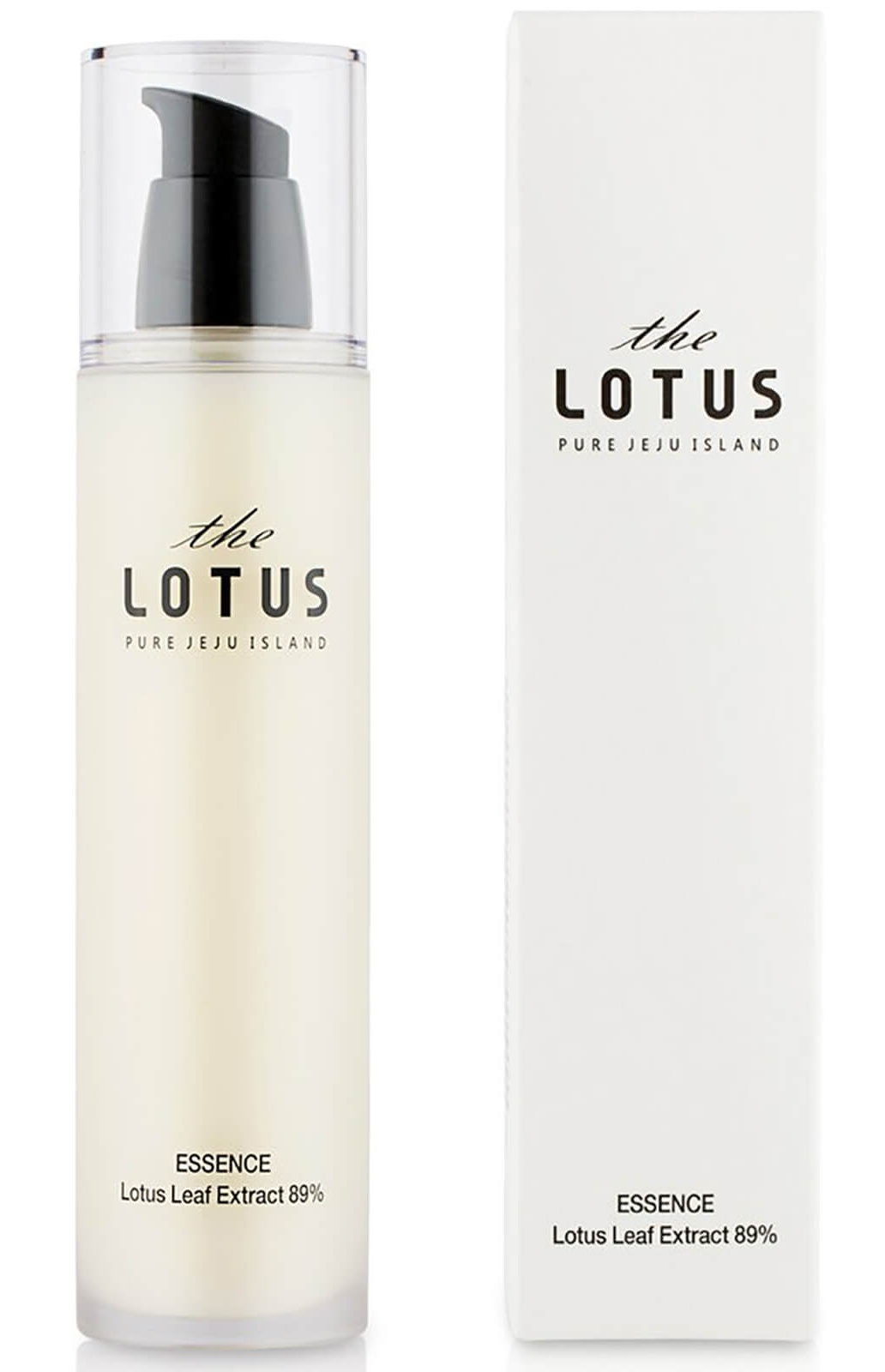 The Lotus Lotus Leaf Extract 89% Essence Lotion
