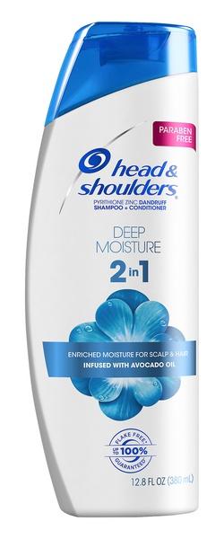 Head & Shoulders Deep Moisture Paraben Free 2In1 Dandruff Shampoo And Conditioner