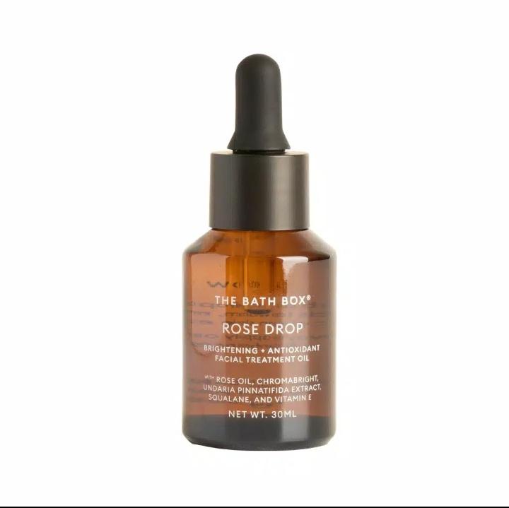 the bath box Rose Drop Brightening + Antioxidant Facial Treatment