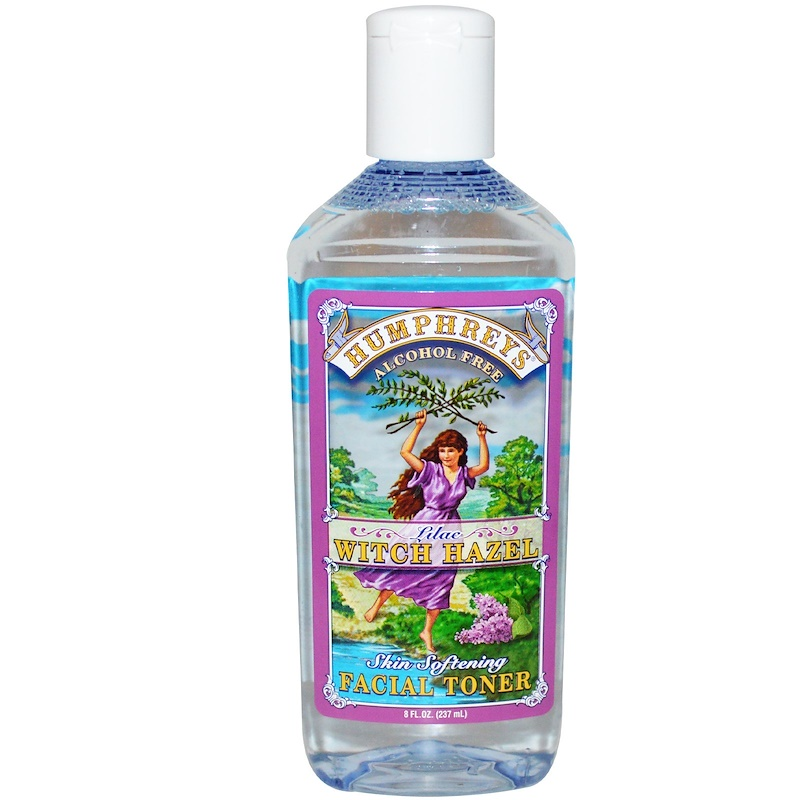 Humphrey's Skin Softening Facial Toner Lilac Witch Hazel