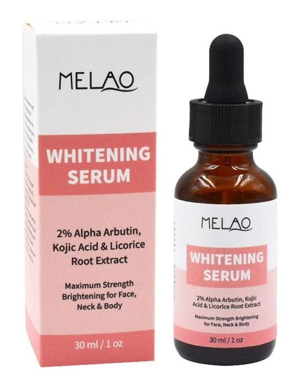 MELAO Whitening Serum 2% Alpha Arbutin, Kojic Acid & Licorice Root Extract