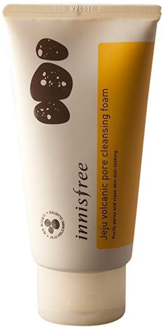 innisfree Pore Clearing Facial Foam With Volcanic Cluster