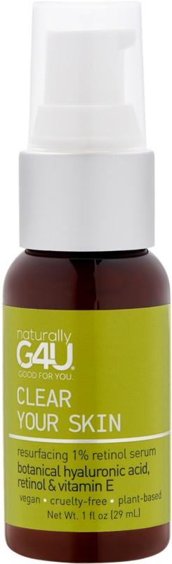 Naturally G4U Clear Your Skin - Resurfacing 1% Retinol Serum