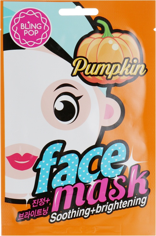 Bling Pop Pumpkin Soothing & Brightening Mask