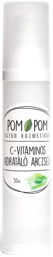 POM POM C-Vitaminos Hidratáló Arczselé