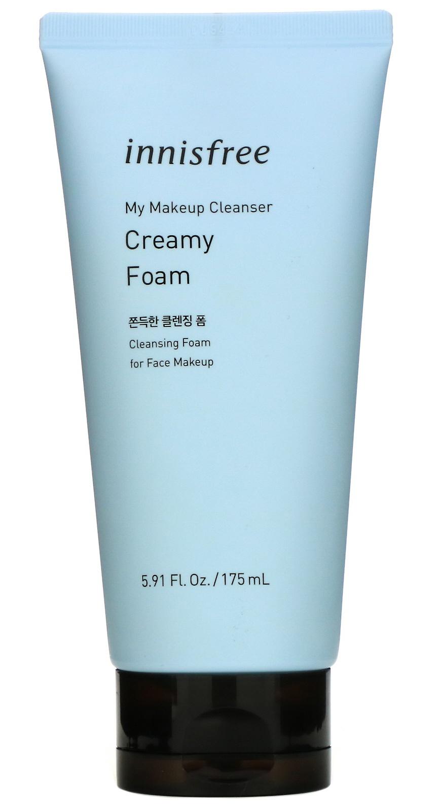 innisfree My Makeup Cleanser, Creamy Foam