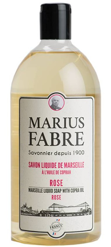 Marius Fabre Marseille Liquid Soap Rose Fragrance