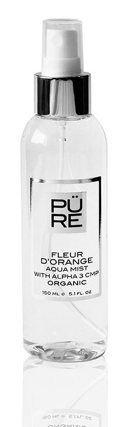 The PÜRE Collection Fleur D'Orange Aqua Mist With Alpha 3 Cmp