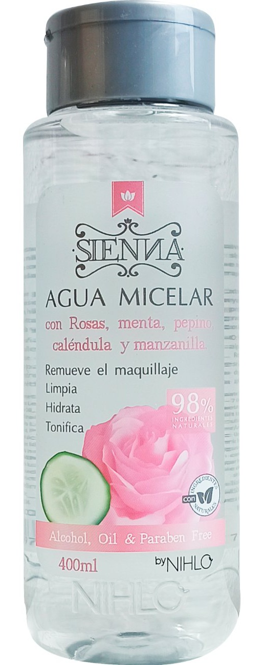 SIENNA Agua Micelar Rosas