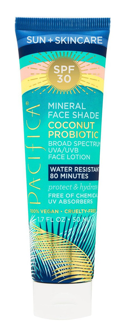 Pacifica Mineral Face Shade Coconut Probiotic Spf 30