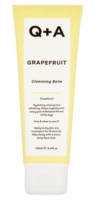 Q+A Grapefruit Cleansing Balm