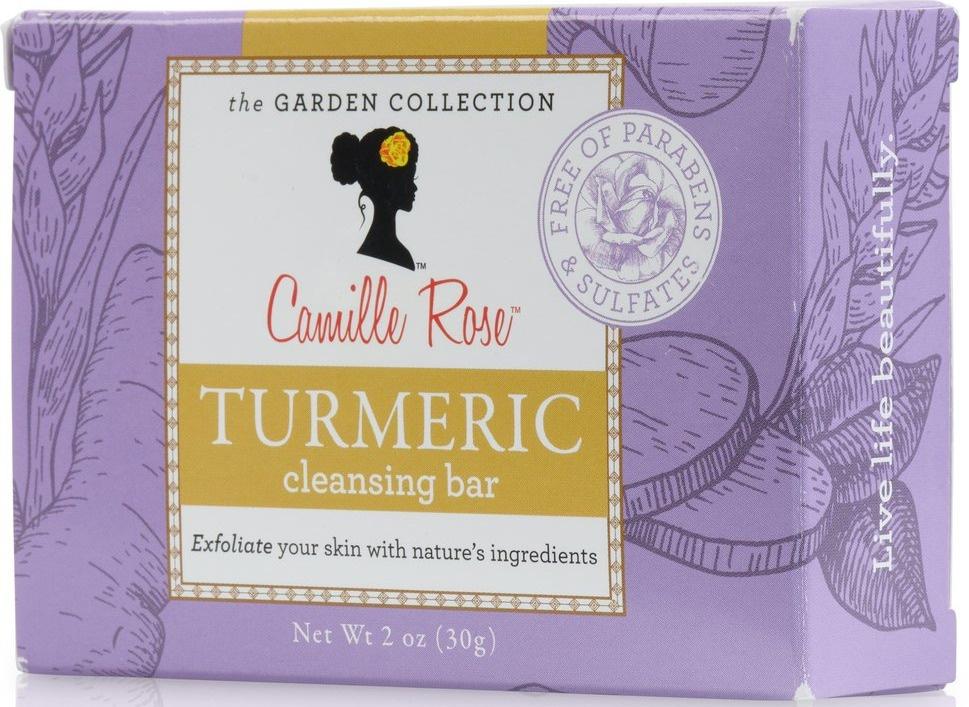 "Camille Rose Turmeric Bar - The Beauty Leaf ""Camille's Garden"""