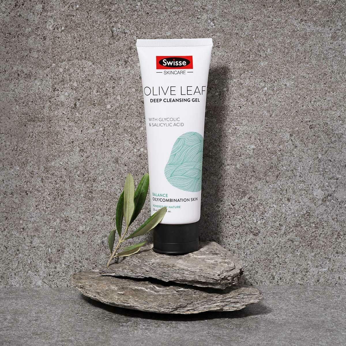 Swisse Olive Leaf Deep Cleansing Gel
