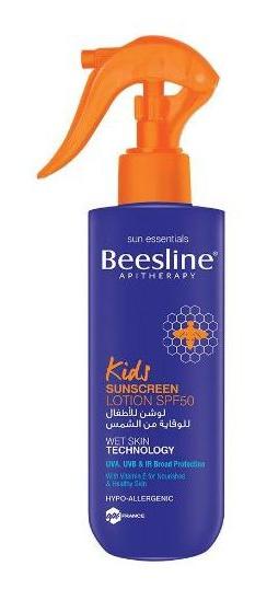 Beesline Apitherapy Kids Sunscreen Lotion SPF50
