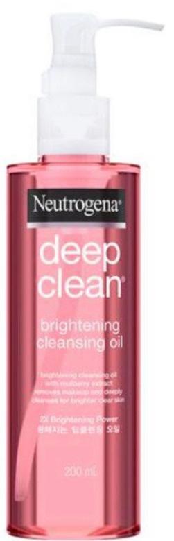 Neutrogena Deep Clean Brightening Cleansing Oil