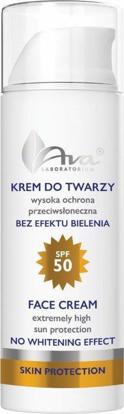 Ava Laboratorium Face Cream SPF50 No Whitening Effect