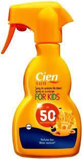 Cien Opalovací Sprej For Kids 50