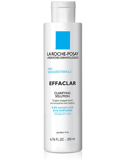 La Roche-Posay Effaclar Clarifying Solution Acne Toner With Salicylic Acid