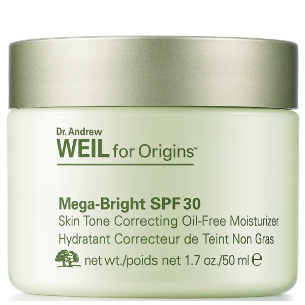 Origins Dr. Andrew Weil For Origins Mega-Bright Spf 30 Skin Tone Correcting Oil-Free Moisturiser