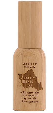 MAHALO Skin Care Vitality Elixir Multi-Correctional Facial Serum To Rejuvenate