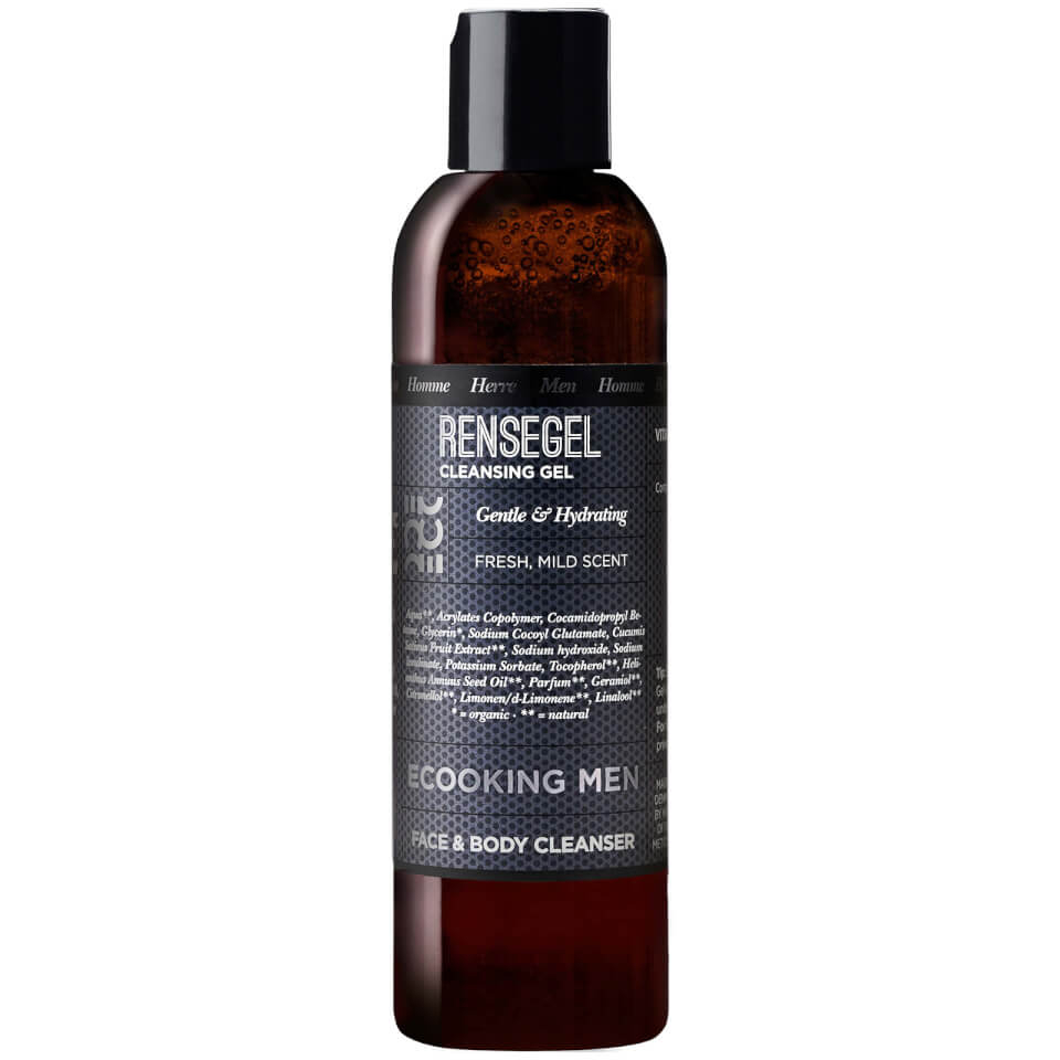 Ecooking Men Face & Body Cleanser