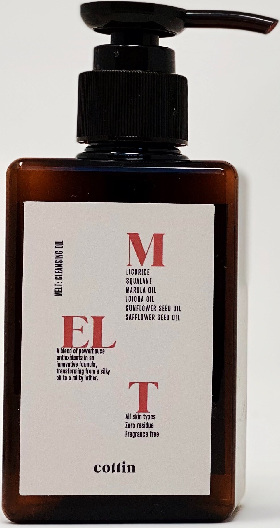 Cottin Melt: Cloudy Cleansing Oil