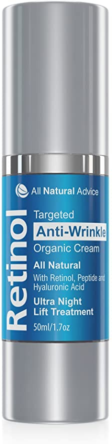 All Natural Advice Retinol Ultra Night Lift Moisturizing Cream