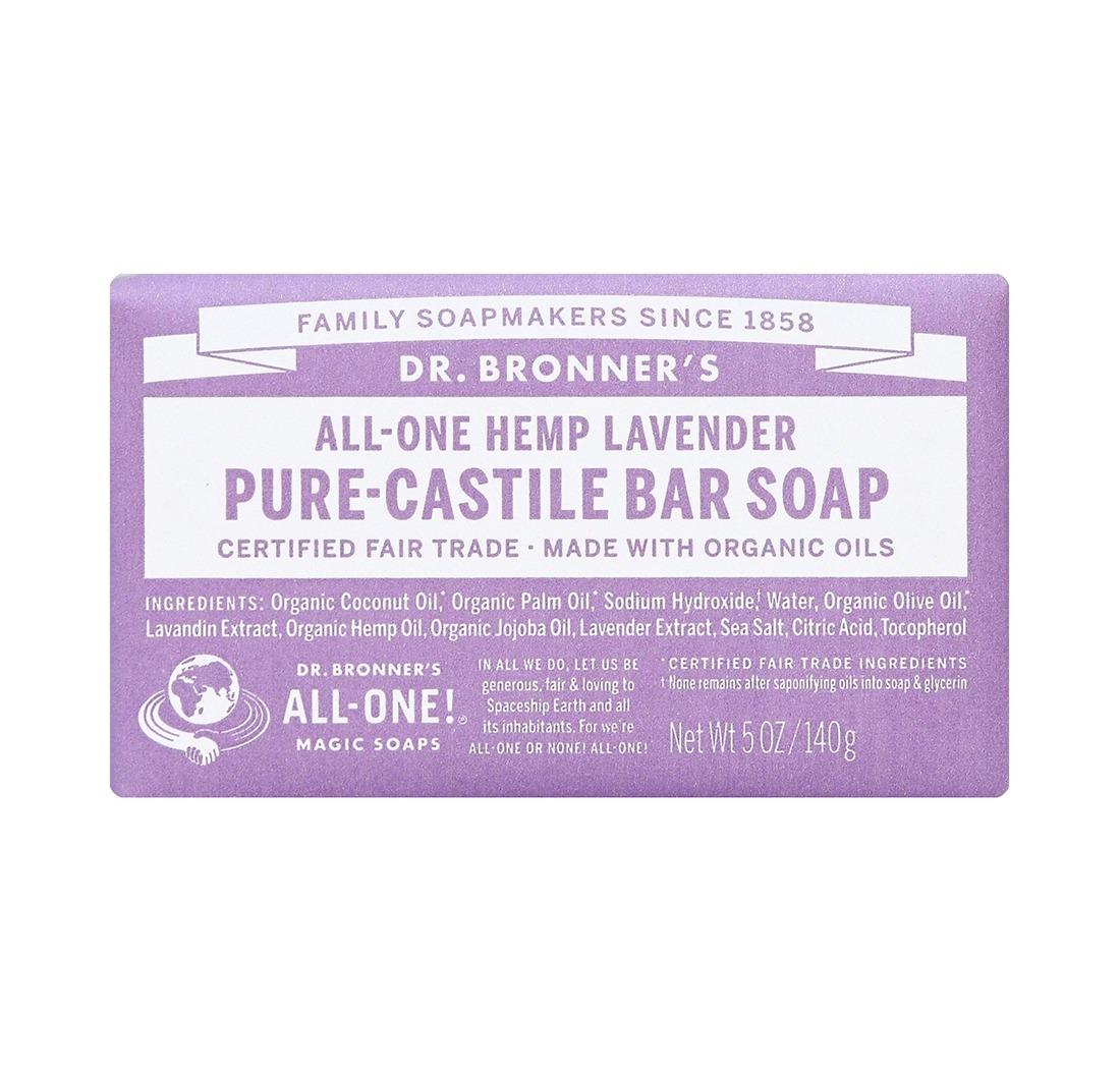 Dr Bronner Lavender Soap Bar
