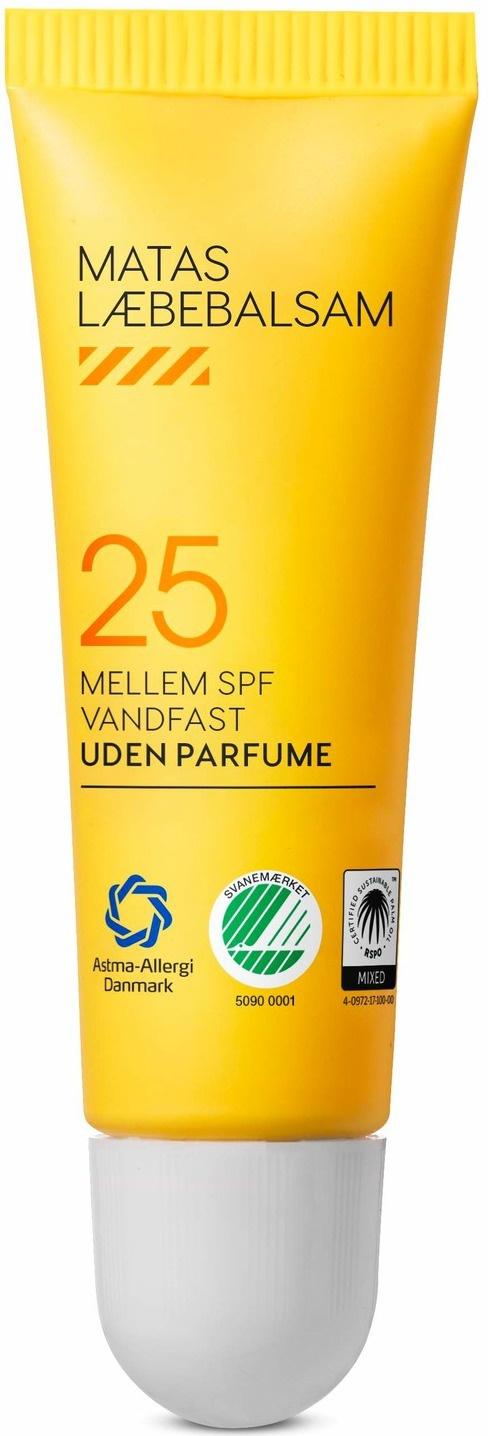 Matas Striber Læbebalsam SPF 25 Uden Parfume